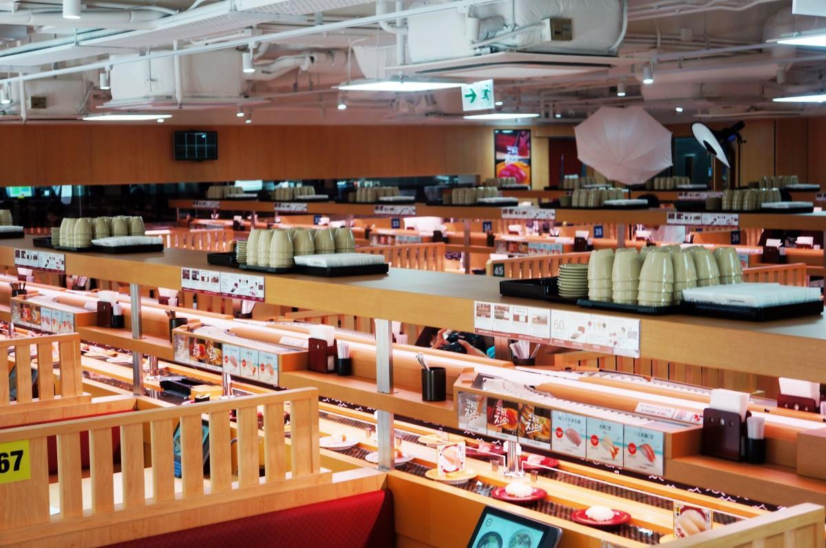 香港にも多店舗展開を狙う「スシロー」