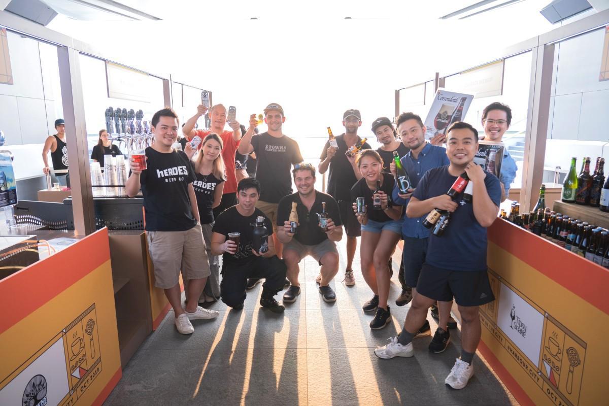 香港では2週に渡り、コーヒーと地ビールのイベントが実施される