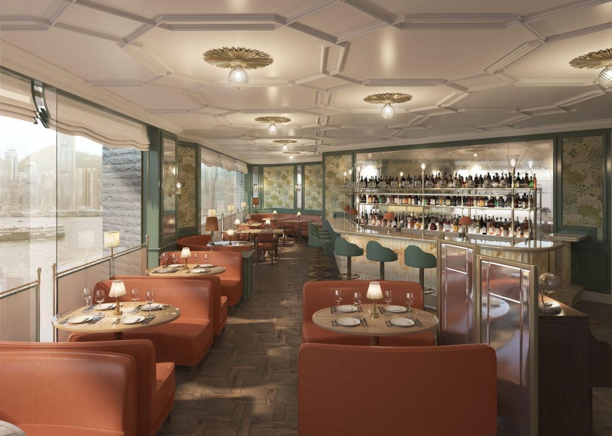 ハーバービューを堪能できるレストラン「Fortnum's 181」