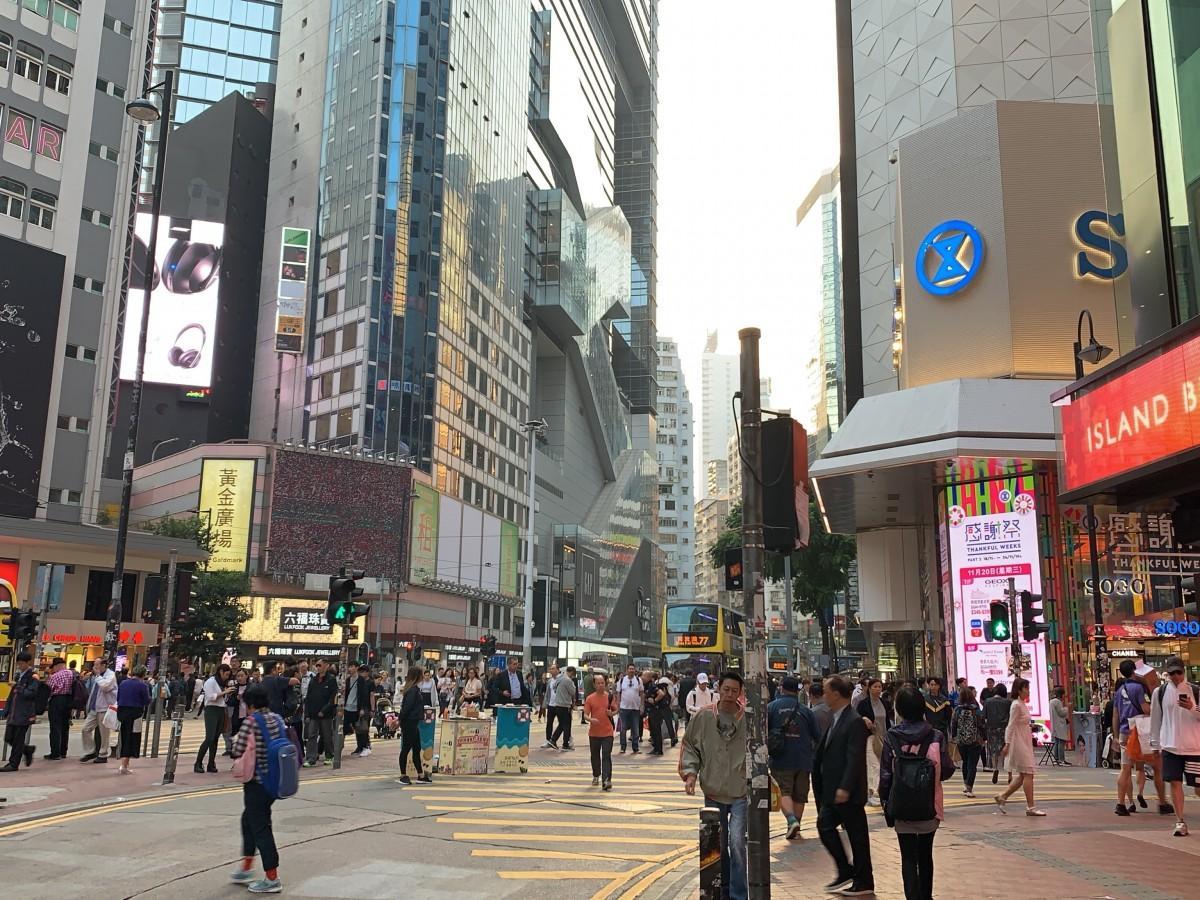依然として不動産価格1位を記録した香港の銅鑼湾地区
