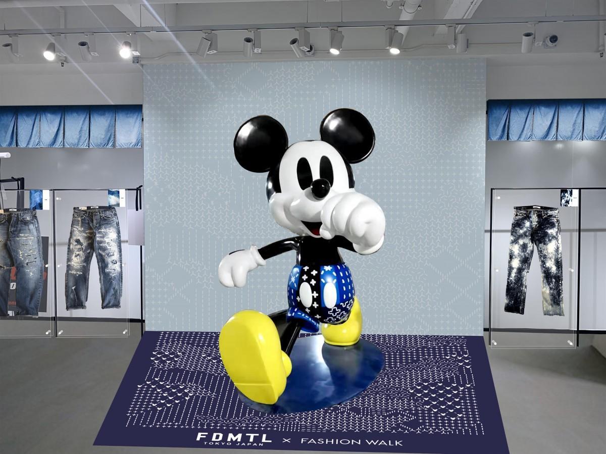 香港側のアプローチで実現したミッキーとジャパンデニムのコラボレーション