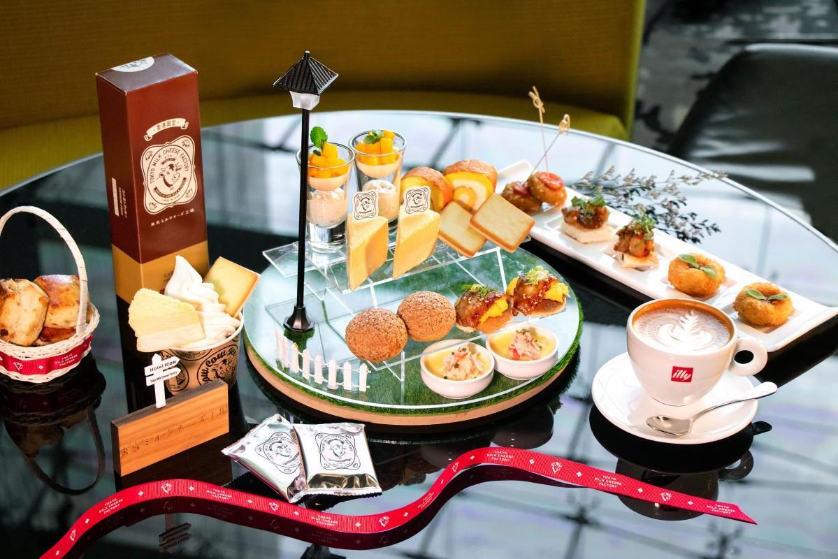 東京ミルクチーズ工場の主力製品が勢ぞろい