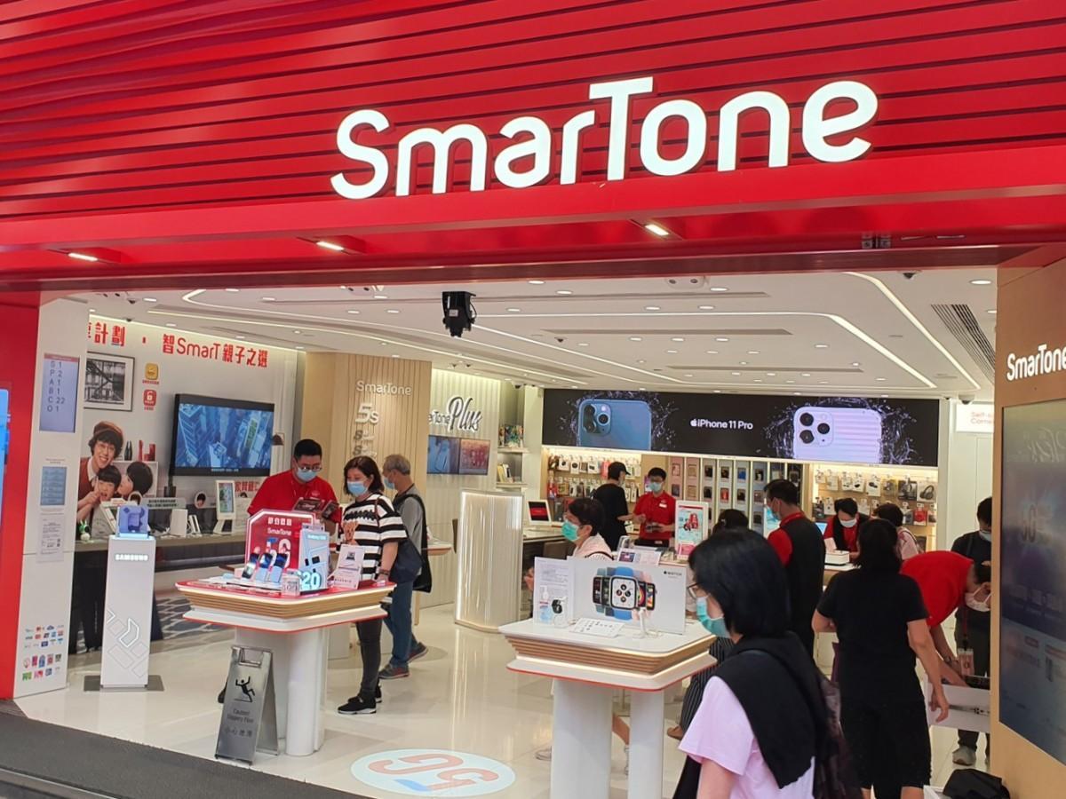 5Gサービス提供開始したスマトーン社の店舗