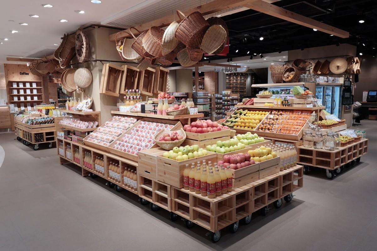 日本産の食材も多く扱う香港のMUJI新店舗
