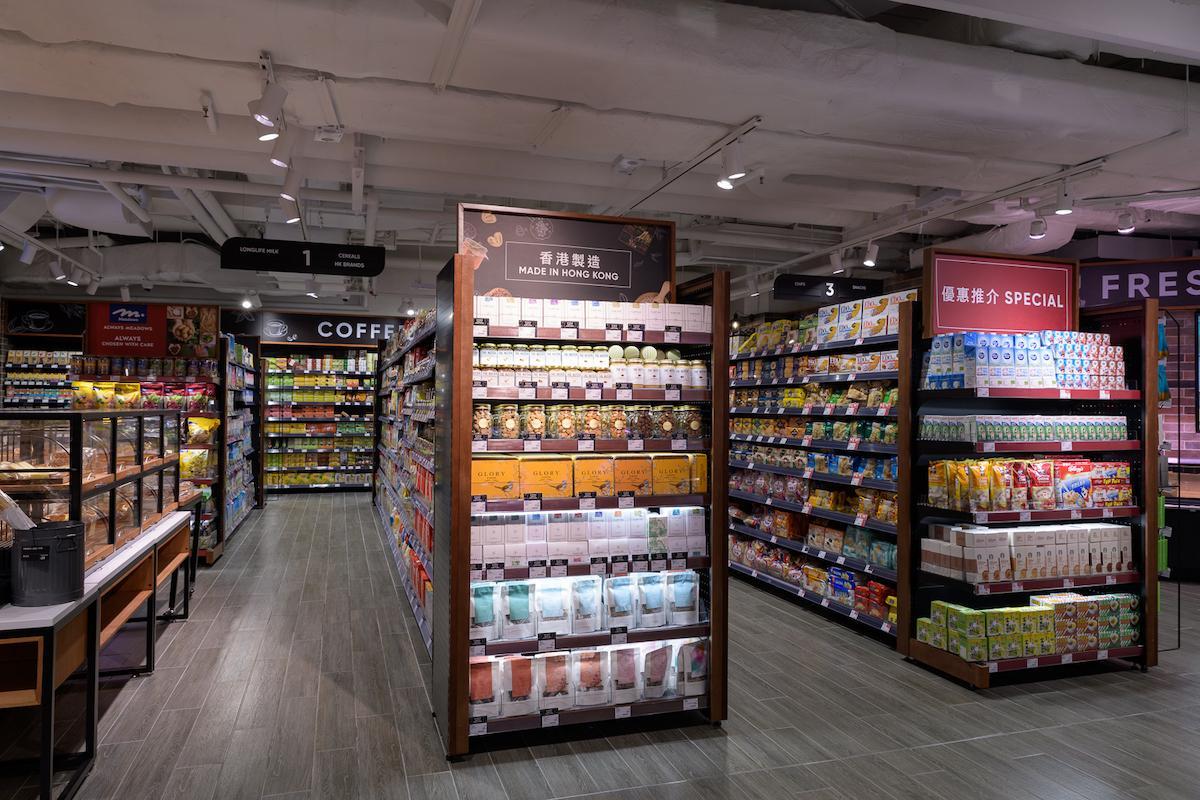 リニューアルした新店では「香港ブランド」コーナーを設けている