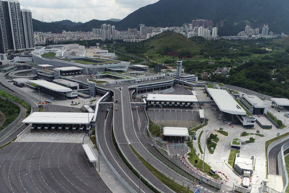 15カ所目のボーダーの供用が開始した香港