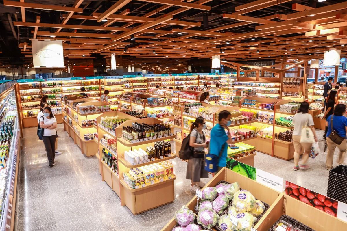 香港にオープンした「健康」をテーマにしたスーパーマーケット