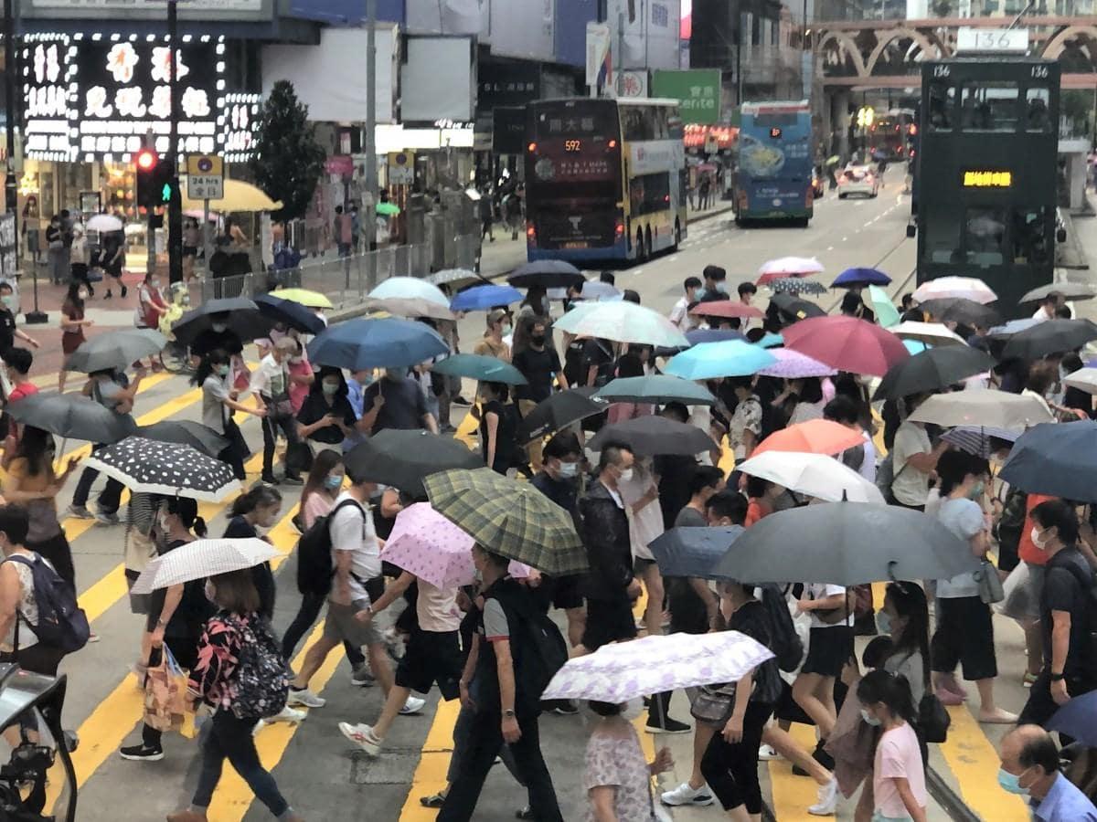 第3波が収束しかけ、少し安定していた香港でまたクラスターが発生