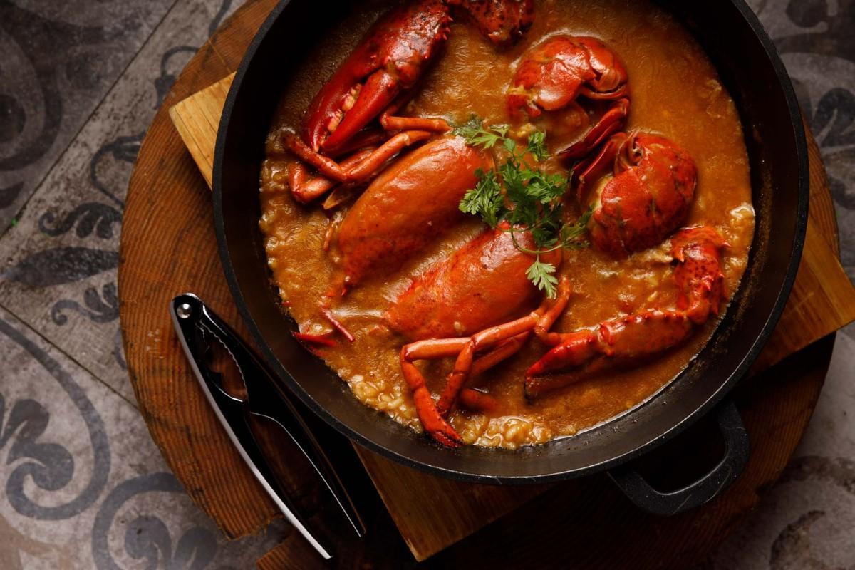 ロブスターを1匹まるごと使ったメニュー、香港で人気の北部スペイン料理を提供