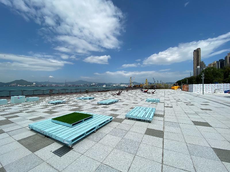 香港島に新しく誕生したハーバースポット