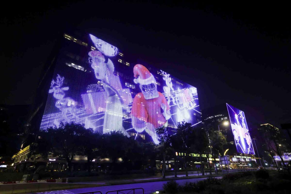 クリスマスの雰囲気が少しずつ増える香港