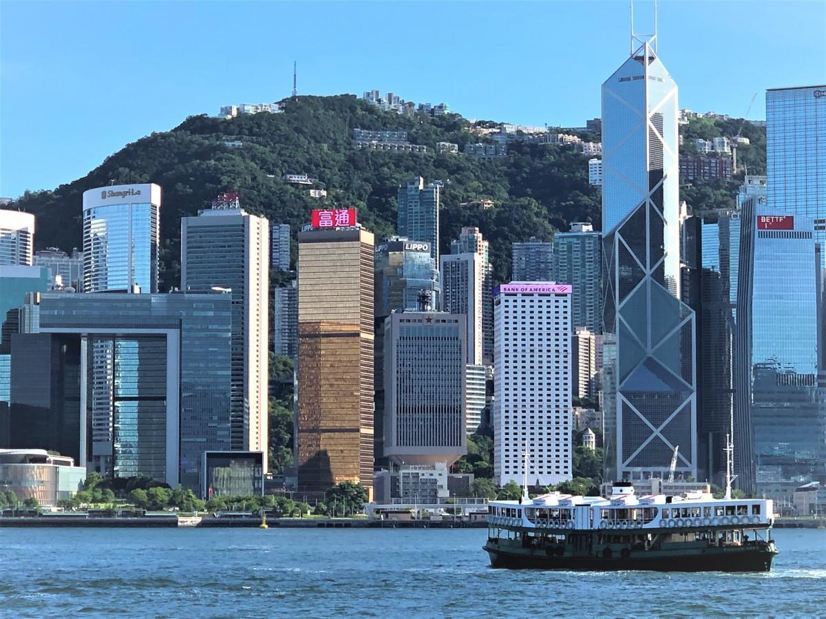 今年は延期をしていた施政方針演説を発表した香港