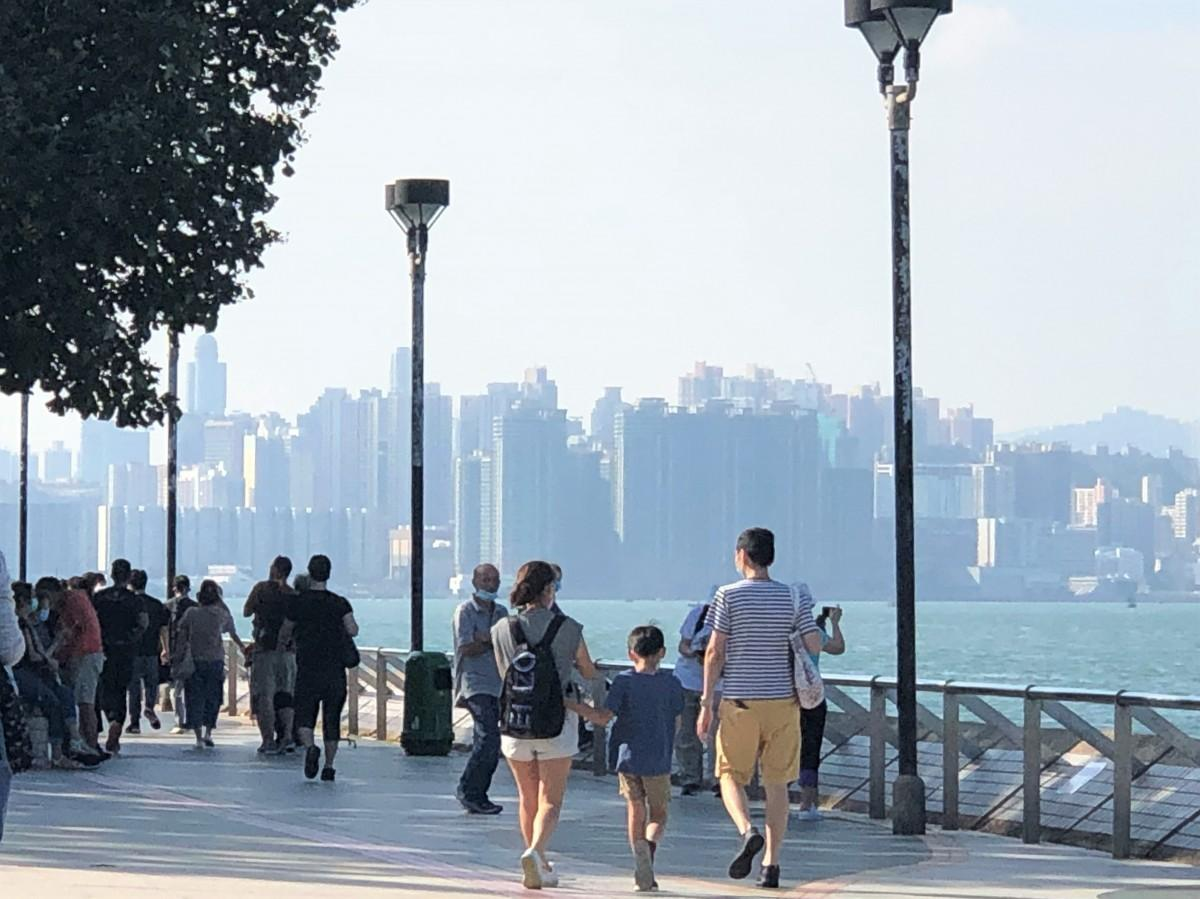 香港島を1周するトレイルコースの案が期待される