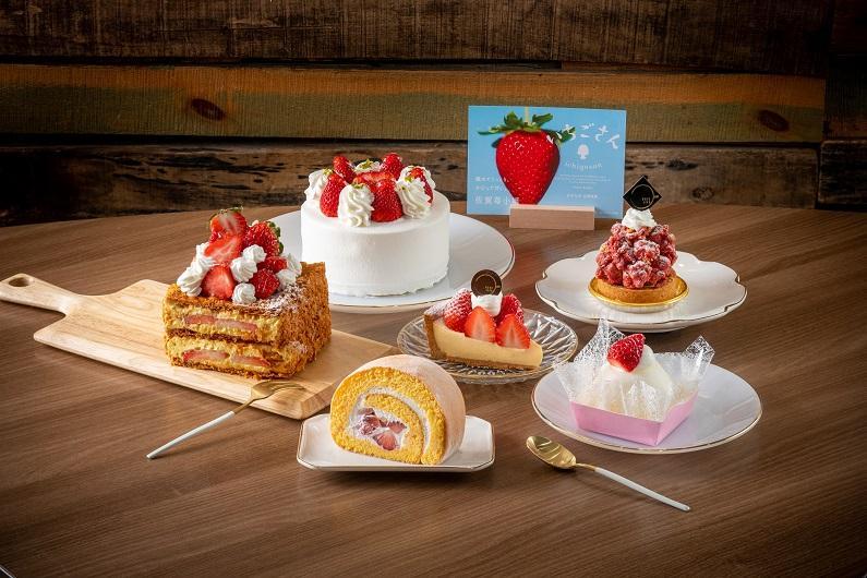 CAFE LIFEのいちごを使うケーキすべてに「いちごさん」を期間限定で採用