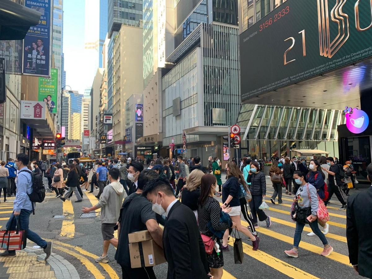 18日からコロナ規制が一部緩和する香港