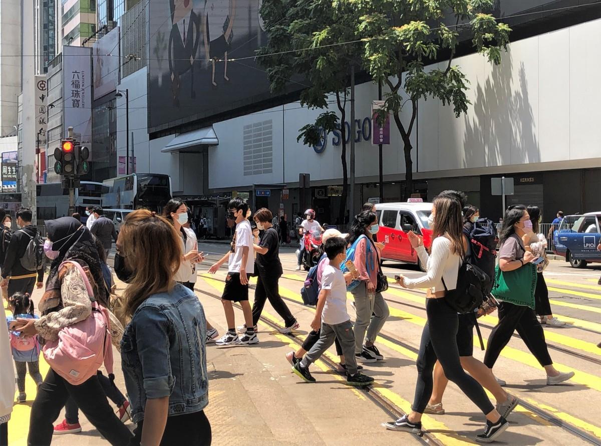 前期の予測よりは「改善」ポイントが高かった香港。来期の見込みも「改善」に期待がかかる
