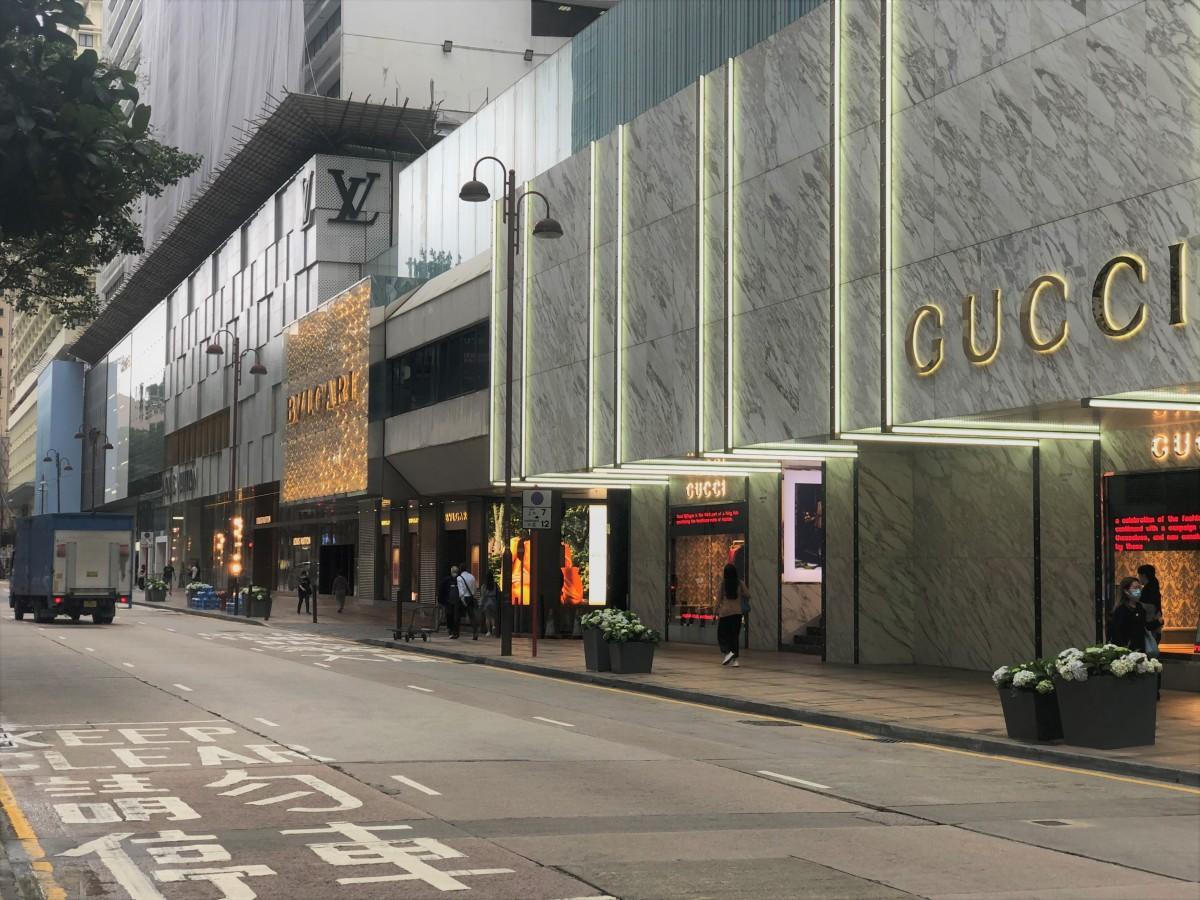 世界一の地価となった尖沙咀の広東道