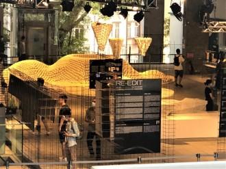 香港のPMQで展示会「Re-edit」 饅頭9000個に見立てたインスタ―レーションも