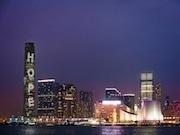 New Autumn Light Show at ICC, HK's Tallest Building