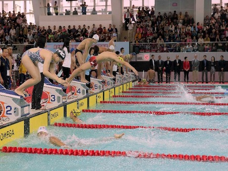 Renovated Public Pool in HK's Victoria Park Fit to Host Int'l Competitions