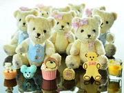 Teddy Bears Amass at the HK Ritz-Carlon to Line Up for New World Record