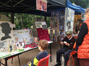 Handicrafts Corner in HK Park Includes Papercutting Master of 50 Years