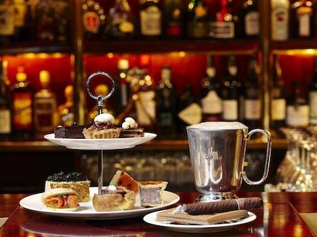 Mandarin Oriental HK Offers Afternoon Tea Set for Men