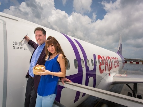 HK Airline Names New Aircraft