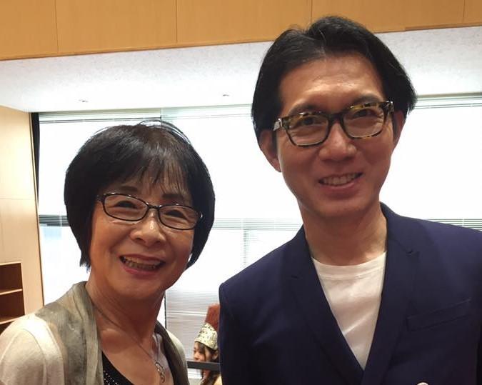 講師の神田昌典さん(右)