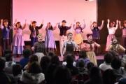 ミュージカル劇団アラムニー、ウニクス上里でフラッシュモブ 公演PR