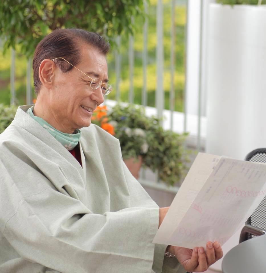 芸能生活60周年を迎える清水章吾さん
