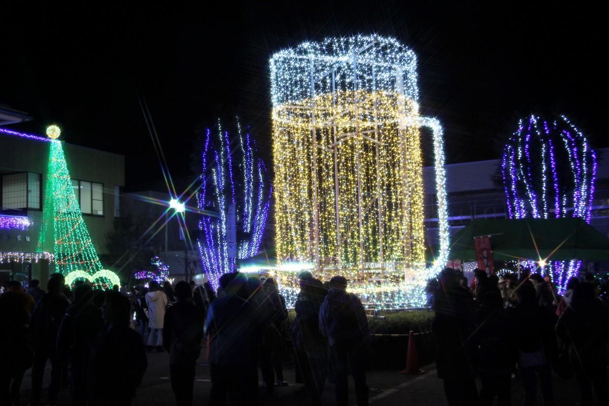 埼玉・神川町のイルミネーション(昨年の様子)