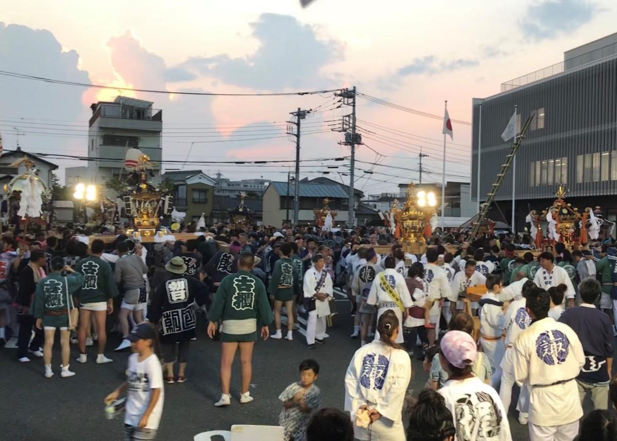 本庄祇園まつり(昨年の様子)