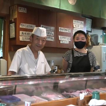 店主の安藤徹さんと長女の寿美さん