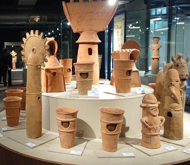 「本庄早稲田の杜ミュージアム」展示品の一部