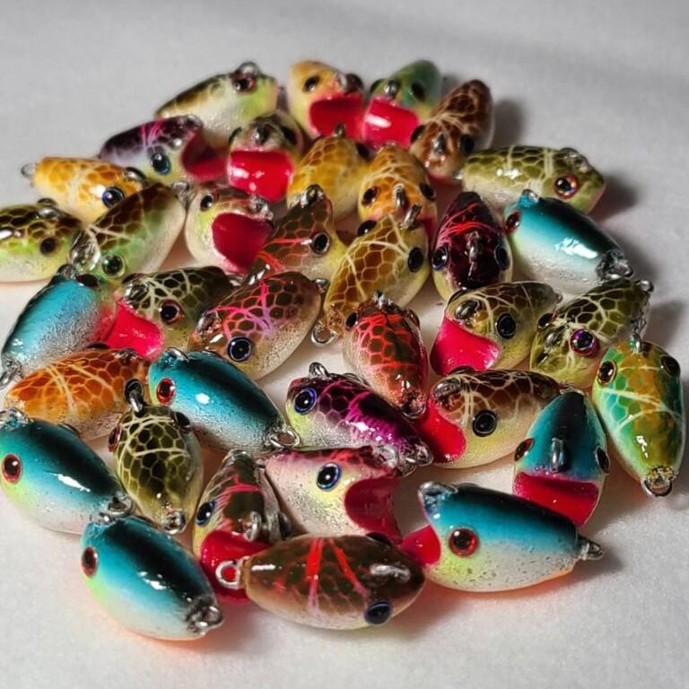 「オンライン彩の国ビジネスアリーナ」に出展した「武蔵屋」の釣り具ルアー