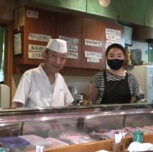 本庄のすし店「たく美」が23周年 家族で切り盛り