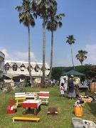 日向・金ヶ浜「海が見えるフリマ」開催 相性診断、地元デュオの弾き語りなど