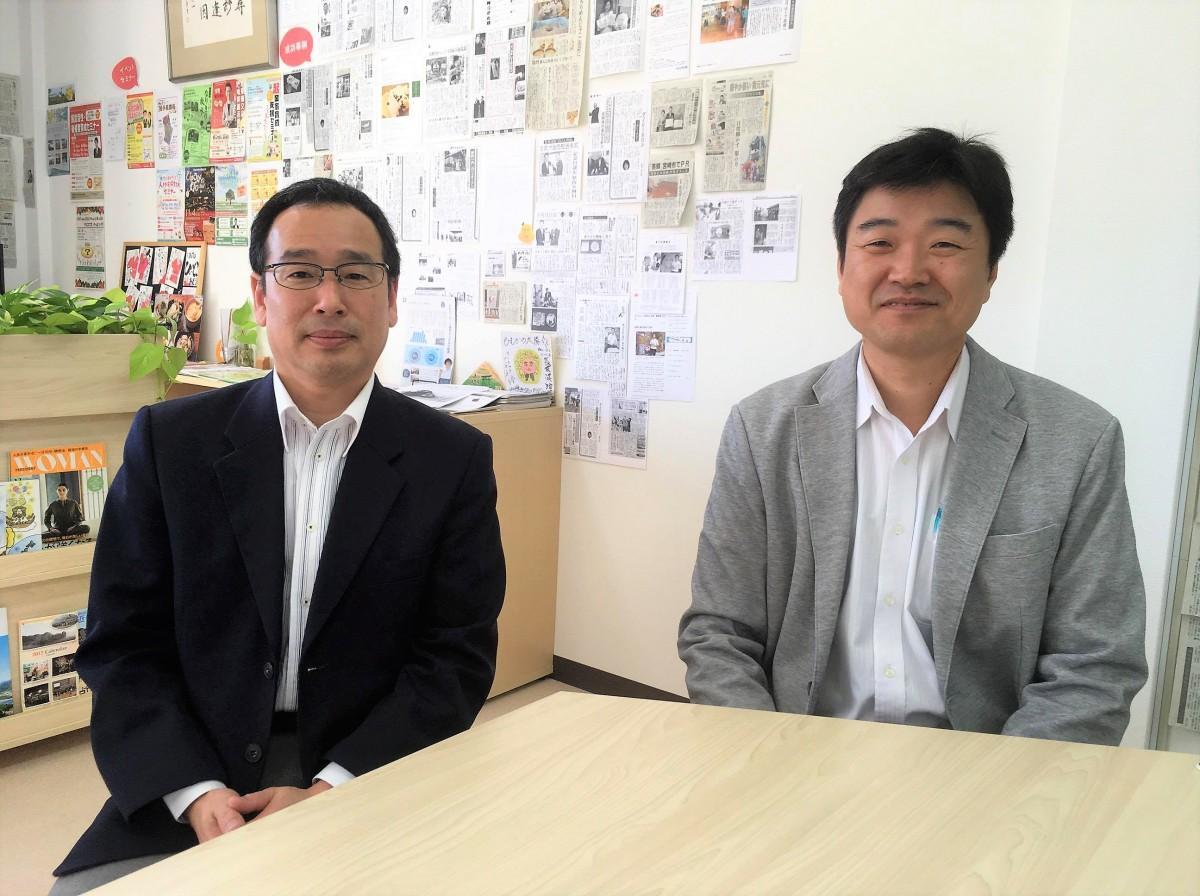 講師のクリエート・渡辺さん(左)と久家さん