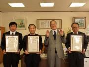 日向のはまぐり碁石職人が宮崎県伝統工芸士に 日向市で27年ぶりの認定