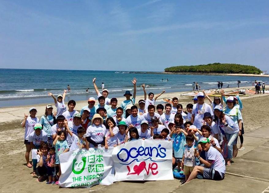 全国で障がい児向けサーフィンスクールを開く「Ocean's Love」