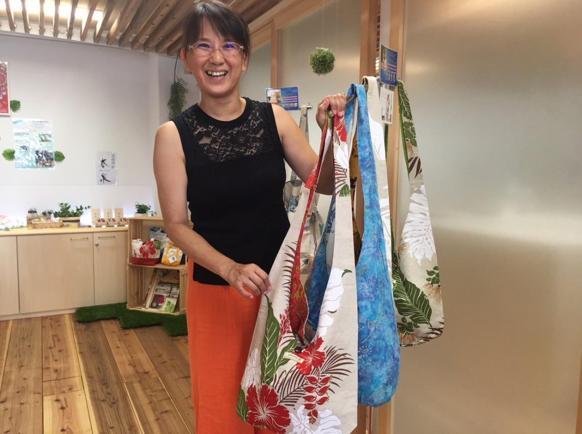 「LaKaori」店主でデザイナーの黒木香織さん
