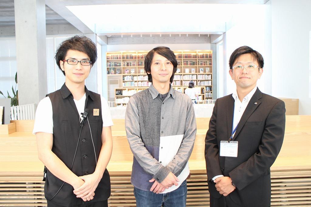 左から佐藤さん、東郷さん、小川さん