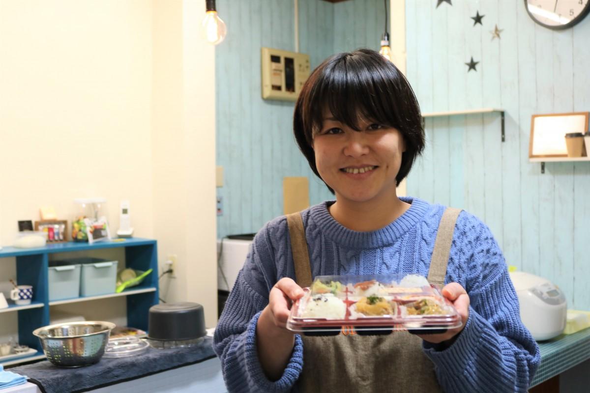 「IRODORI Delica」店主の菊池由香さん