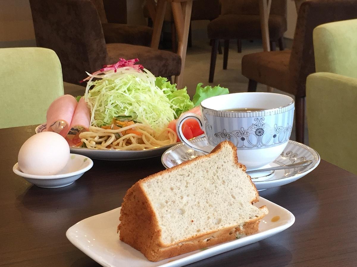一日10食限定販売の「ゆるカフェセット」(600円)