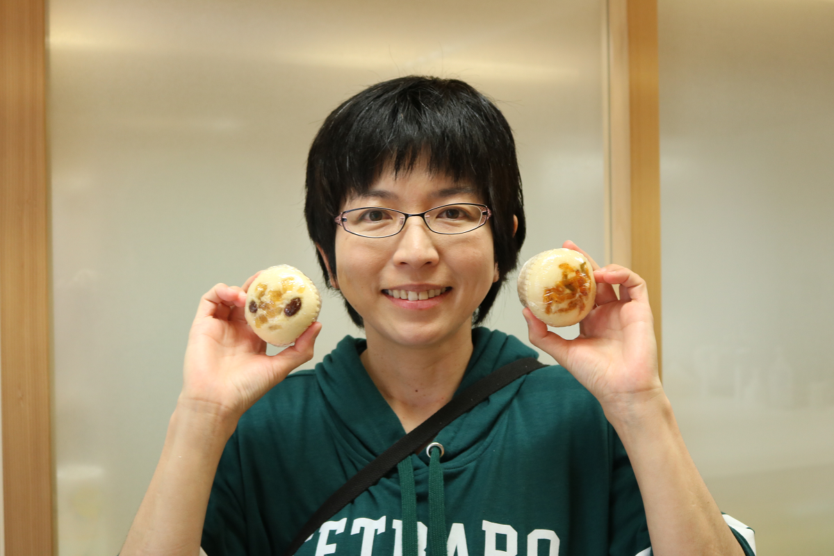 蒸しパン専門店「もってぃ」店主の中内由美さん