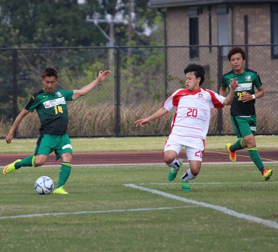 Jリーグを目指す、緑のユニフォームの社会人サッカーチーム「J.FC MIYAZAKI」