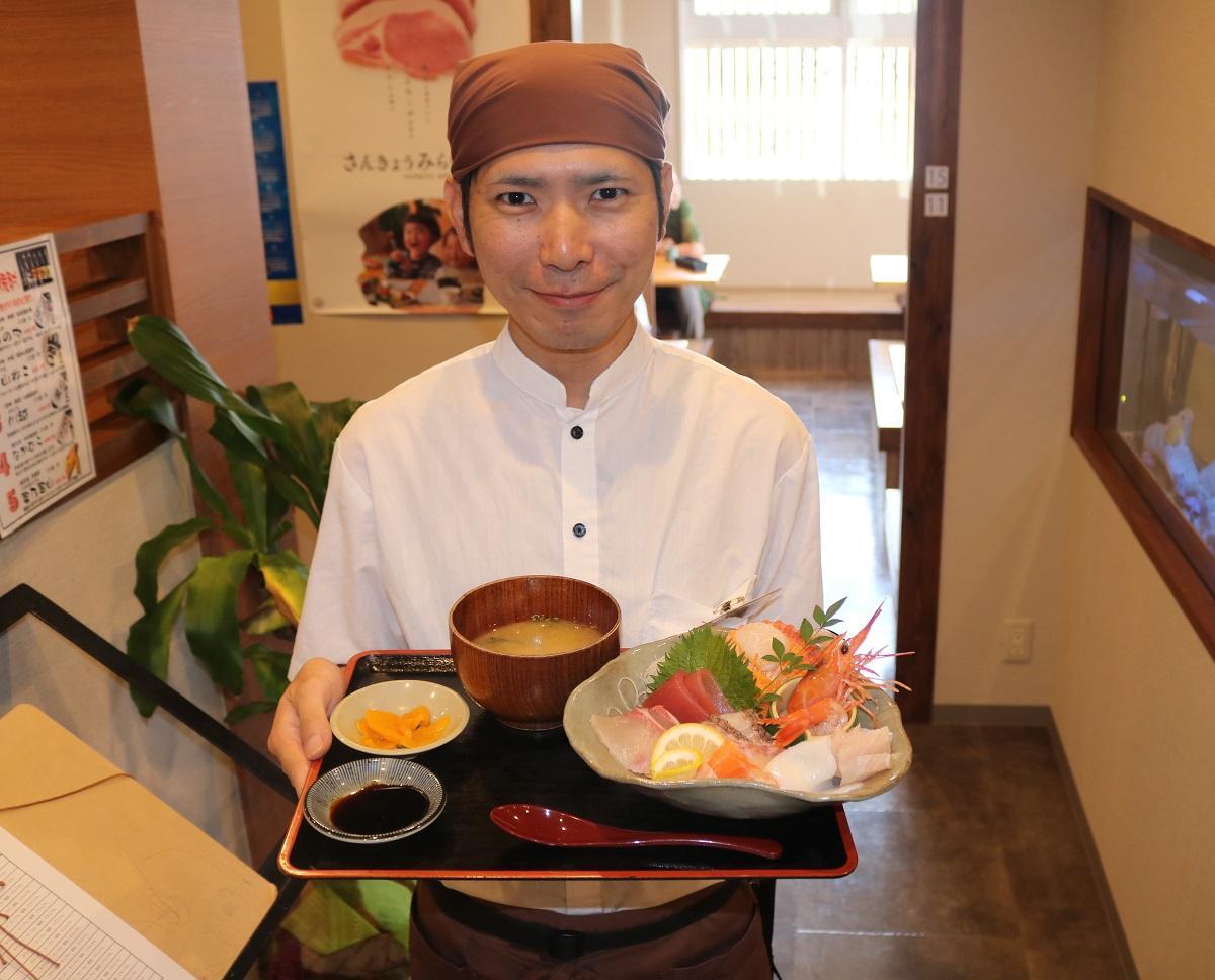 「旬食工房 きよし」の川崎裕太店長