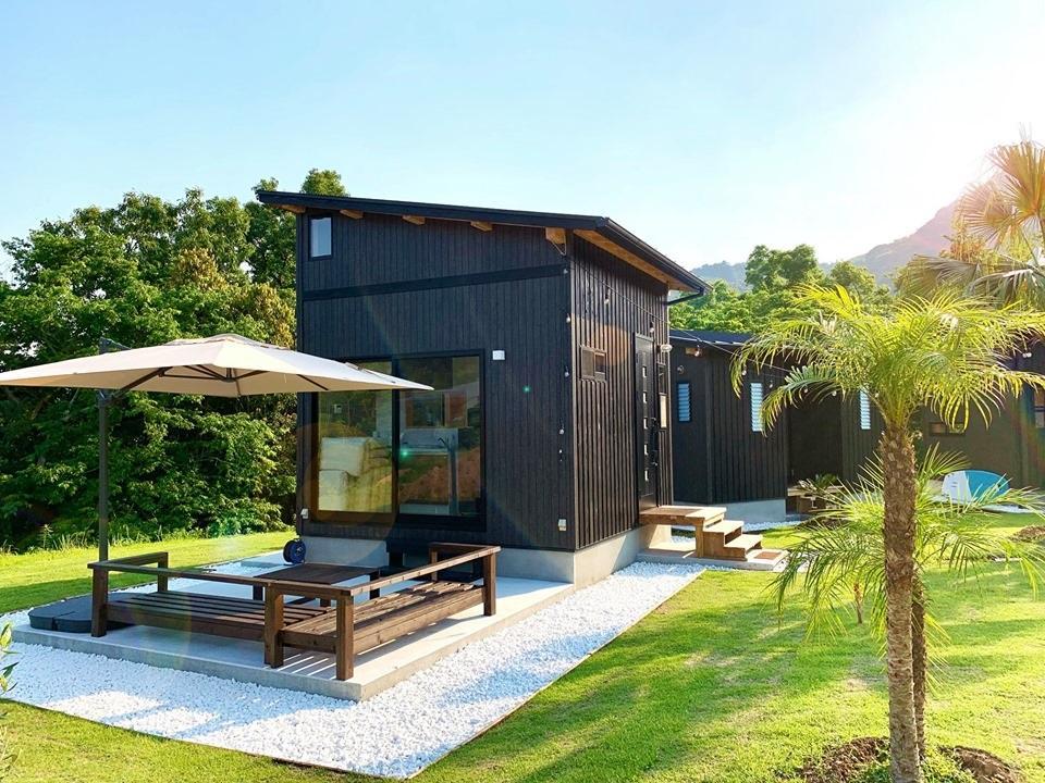 石並川キャンプ場近くにオープンした「Le Lodge美々津」