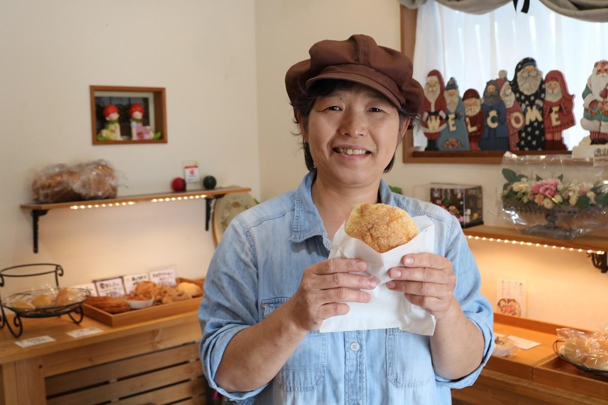 「あずきとまろん」の内山田美穂さん